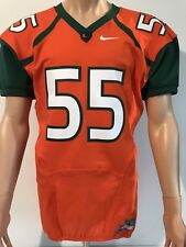 NEW Miami Hurricanes Nike Football Authentic Jersey Large NCAA Team Issued 2017