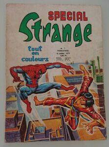 SPECIAL STRANGE N°1 LUG 1975