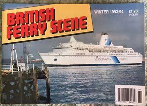 British Ferry Scene Winter 1993/94 Ferries