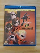 The Incredibles Blu-ray - No Dvd - No digital