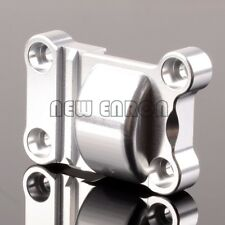 Silver Aluminum Rear Gear Cover For RC 1/5 Traxxas X-Maxx X Maxx 77076 TXM038M