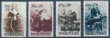 NVPH 1059 - 1062 (Ongebruikt met nette plakker)