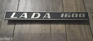 Lada 1600 Rear Trim Badge Emblem Plastic 2106-8212200