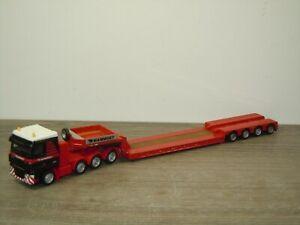 Daf 95 XF Truck & Trailer Mammoet - Promotoys WSI 1:87 *49605