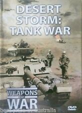 WEAPONS OF WAR Desert Storm: Tank War DVD + BOOK WORLD WAR TWO WWII BRAND NEW R0