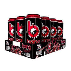 VPX Bang Energy Drink Super Creatine Black Cherry Vanilla 16 oz ( Pack of 12 )
