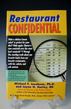 Restaurant Confidential Michael Jacobson Pb 2002  1st Printing Paperback (Z 13)