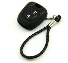 Silicone Shell Case Holder For Peugeot Remote Key 107 207 307 607 206 306 405 C3