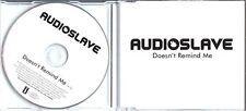 AUDIOSLAVE Doesn't Remind Me UK 1trk promo CD UNPLAYED Soundgarden Chris Cornell