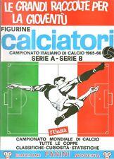 ALBUM FIGURINE CALCIATORI PANINI 1965-1966 - RISTAMPA - EDIZ. L'UNITA'