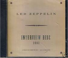 LED ZEPPELIN PROMO ONLY intervista DISC 2003 NUOVO OVP Sea