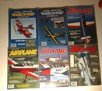 Model Airplane News Lot 1980s Various Years/Conditions  6 Magazines