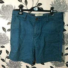 Hollister Beach Prep Fit Shorts Blue Size 32