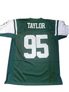 Nfl On Field Football jersey ny jets 95 Taylor 50/L new
