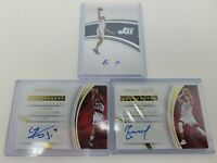 Lot Of (3)- Panini Immaculate Autographs- Valanciunas, Henderson And Burks