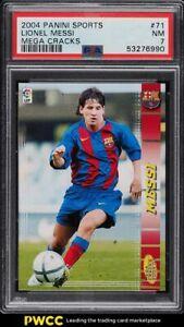 2004 Panini Sports Mega Cracks La Liga Lionel Messi ROOKIE RC #71 PSA 7 NRMT