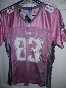 Wes Welker New England Patriots NFL Pats Reebok Vintage football Jersey Womens L