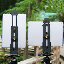 Phone Tablet PC Stand Tripod Mount Adapter Adjustable Clamp Holder SALE LA