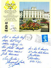1990's CROSS KEYS HOTEL KELSO ROXBURGHSHIRE SCOTLAND COLOUR POSTCARD