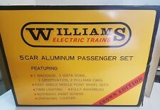 Williams #2800 Norfolk and Western 5-Car Aluminum Passenger Set Crown Edition <>