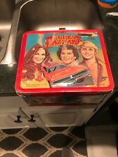 1980 THE DUKES OF HAZZARD METAL LUNCH BOX WITH THERMOS General Lee Bo Luke Daisy