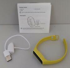 Samsung Galaxy Fit E Jaune tracker d'activité Bracelet connecté /EB03