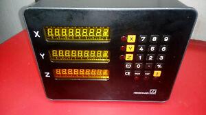 3 Achsen Zähler VRZ 750  Digitalanzeige von Heidenhain