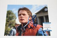 MICHAEL J. FOX SIGNED 'BACK TO THE FUTURE' MARTY 11X14 PHOTO 7 BECKETT COA BAS