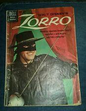 Zorro (1959 Dell) #9 GD/VG 3.0 art guy western adventure movie classics photo