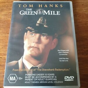 The Green Mile DVD R4 Like New! FREE POST