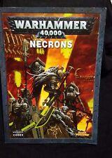 Warhammer 40K Necron Army 5th Ed Codex : C'tan, Stormlord Imotekh, Orikan Stats
