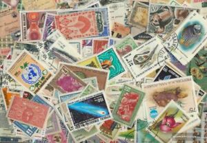 Madagascar 200 different stamps