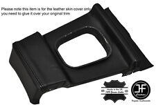 BLACK STITCHING MANUAL GEAR SURROUND LEATHER COVER FITS BMW E10 2002 1802 Tii