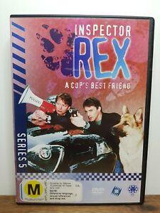 Inspector Rex Series 5 (DVD 1999 PAL Region 4) VGC, German w/ English Subtitles