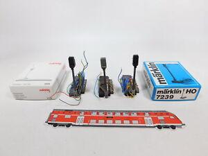 CT879-0,5# 3x Märklin H0 7239 Hauptsignal/Lichthauptsignal, sehr gut+2x OVP