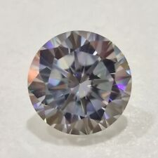Vvs1 Round Cut Use 4 Jewelry/Ring/Pendant Loose Moissanite Gray 1.19 Ct 7.00 Mm