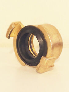 """New Pressure Washer 1"""" Brass Female BSP Claw Coupling For Karcher HDS Range"""