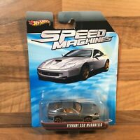 Hot Wheels HW Speed Machines Ferrari 550 Maranello Vehicle Car Mattel 2012