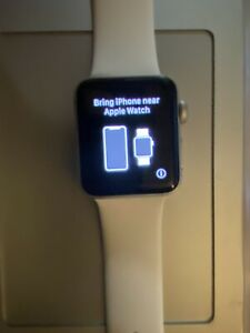 Apple Watch Series 3 Silver 38mm Sport Band w/ GPS & Ceramic Back 🤩