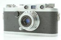 [Exc+5] Nicca Type33 w/Nikkor C 35mm f/3.5 Leica LTM L39 mount from Japan 641