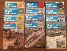 Model Railroader Magazine 1984 Full Year 12 Issues Vintage Trains