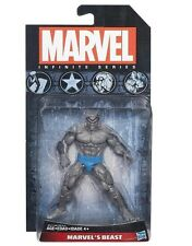 Marvel's Beast GREY VARIANT Marvel Universe infinite figure Hasbro bent card