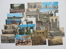 Postcard Collection, 24 Count Various Vintage, countries sites history post card