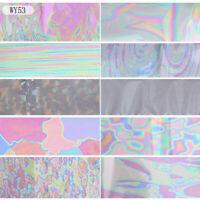 10 pcs 20X4 cm Marble Shell Dream Cloud Nail Art Foil Transfer Decals Manicure