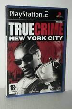 TRUE CRIME NEW YORK CITY GIOCO USATO OTTIMO PS2 VERSIONE ITALIANA AS3 50256