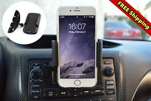 Car Mount CD Player Slot Cell Phone Holder For Samsung Galaxy S8/S9 Plus iPhone7
