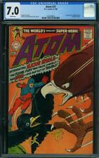 Atom #37 CGC 7.0 -- 1968 -- 1st app Major Mynah.  Hawkman cameo #1463288002
