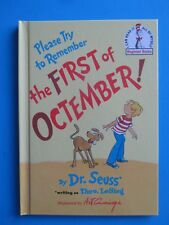 *** New THE FIRST of OCTEMBER! Dr Seuss - Kid's Beginner Books FAST Shipping