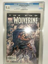 Marvel Wolverine: The End #3 Cgc 9.6 White Pages Case Is Mint