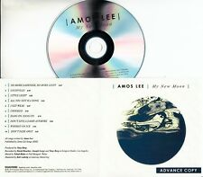AMOS LEE My New Moon 2018 UK 10-trk promo test CD + press release